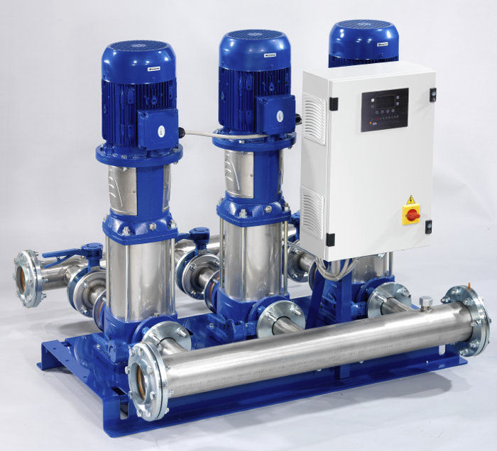 Testing & Commissioning Of Water Booster Pump Set - Method Statement